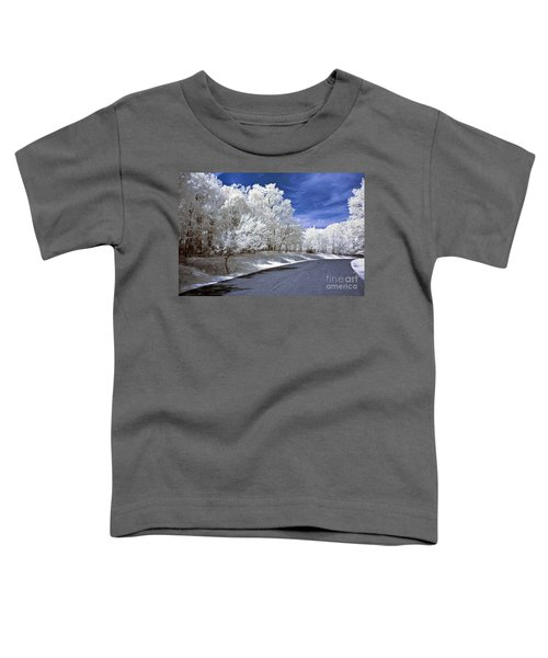 Infrared Road Toddler T-Shirt