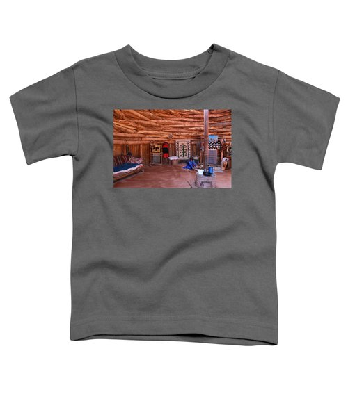 Inside A Navajo Home Toddler T-Shirt