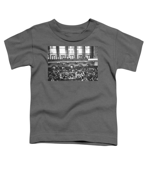 Interior Of Ny Stock Exchange Toddler T-Shirt