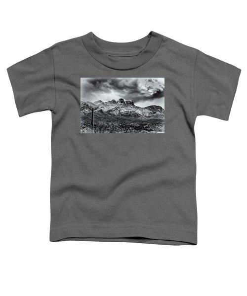 Toddler T-Shirt featuring the photograph Into Clouds by Mark Myhaver