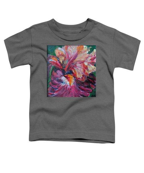 Iris - Bold Impressionist Painting Toddler T-Shirt