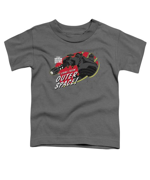 Iron Giant - Outer Space Toddler T-Shirt