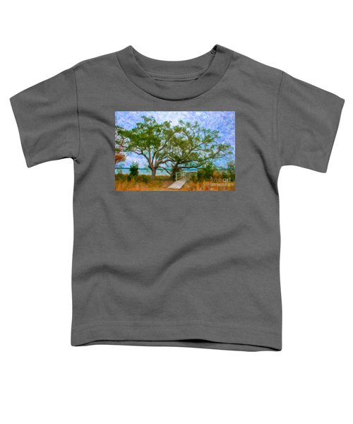 Island Time On Daniel Island Toddler T-Shirt
