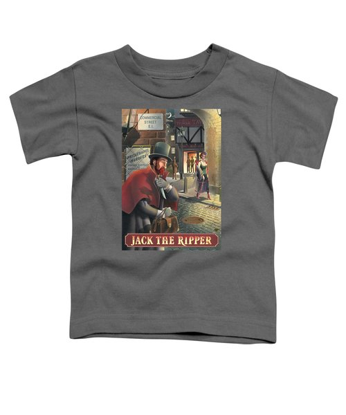 Jack The Ripper Toddler T-Shirt