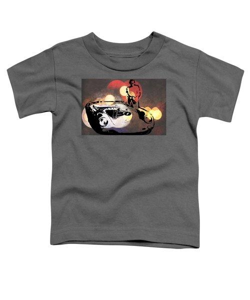 James Dean And Little Bastard Toddler T-Shirt
