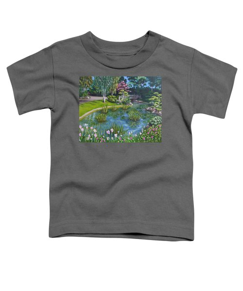 Japanese Garden Toddler T-Shirt