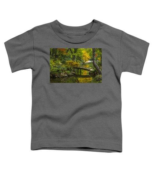 Toddler T-Shirt featuring the photograph Japanese Garden by Sebastian Musial