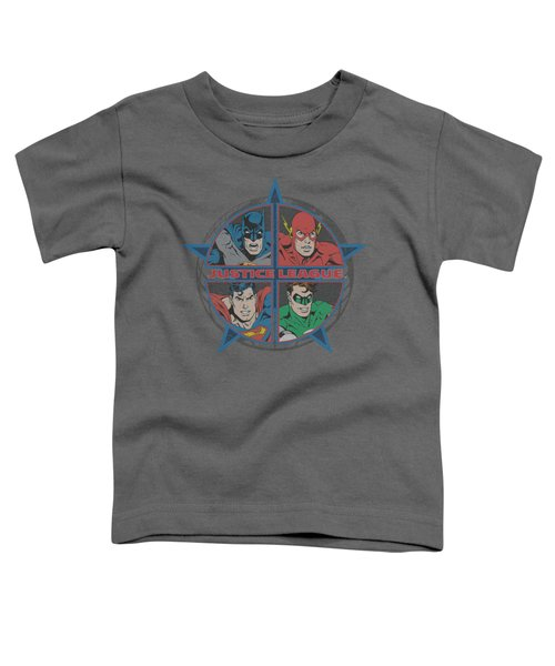 Jla - Four Heroes Toddler T-Shirt
