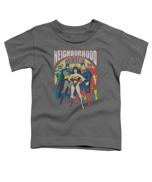 Jla - Neighborhood Watch Toddler T-Shirt