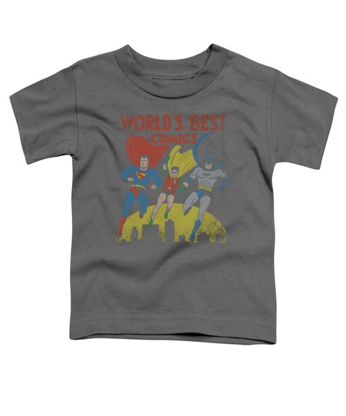 Jla - World's Best Toddler T-Shirt