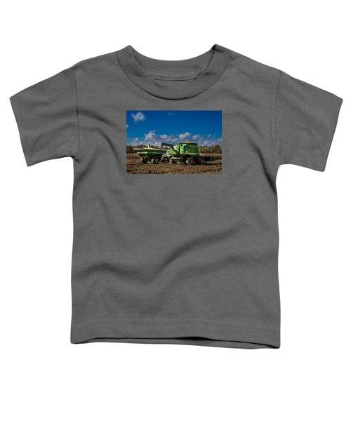 John Deere Combine 9770 Toddler T-Shirt