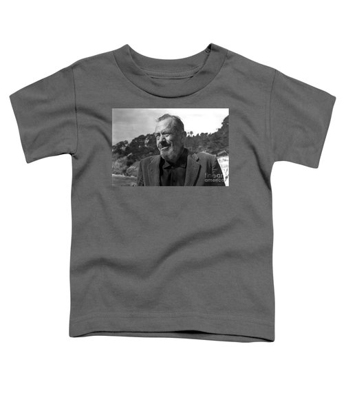John Steinbeck Pebble Beach, Monterey, California 1960 Toddler T-Shirt