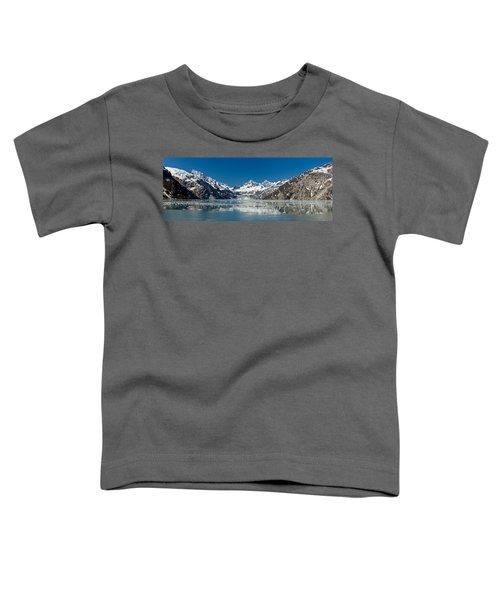 Johns Hopkins Glacier In Glacier Bay Toddler T-Shirt