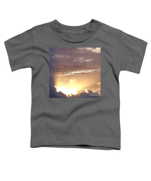 Joshua 1 Toddler T-Shirt