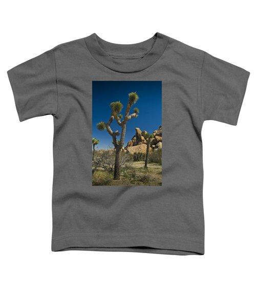California Joshua Trees In Joshua Tree National Park By The Mojave Desert Toddler T-Shirt