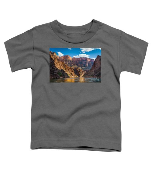 Journey Through The Grand Canyon Toddler T-Shirt by Inge Johnsson