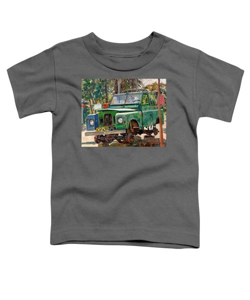 Journeys End, 2006 Oil On Canvas Toddler T-Shirt