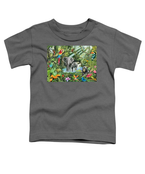 Jungle Toddler T-Shirt by Mark Gregory