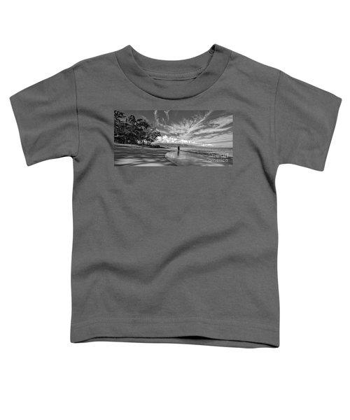 Kanaha Beach Maui Hawaii Panoramic Toddler T-Shirt