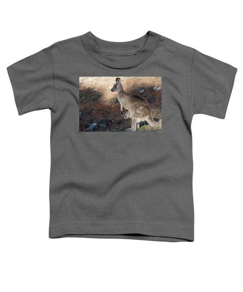 Kangaroo And Joey Toddler T-Shirt