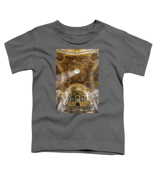Kappele Wurzburg Organ And Ceiling Toddler T-Shirt