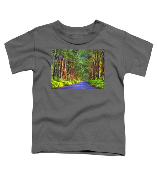 Kauai Tree Tunnel Toddler T-Shirt