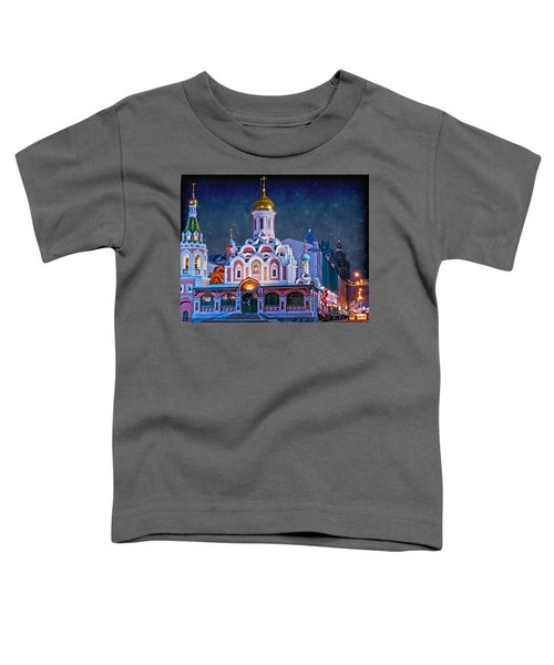 Kazan Cathedral. Red Square. Moscow Russia Toddler T-Shirt by Juli Scalzi