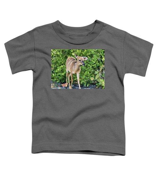 Key Deer Cuteness Toddler T-Shirt
