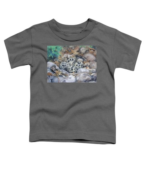 Killdeer Nest Toddler T-Shirt