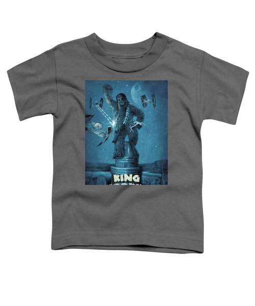 King Wookiee Toddler T-Shirt by Eric Fan