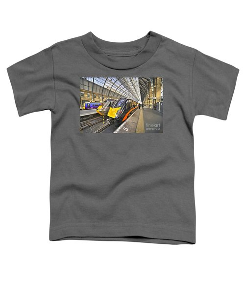 Kings Cross Variety  Toddler T-Shirt by Rob Hawkins