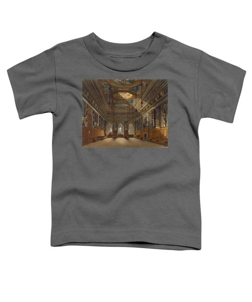 Kings Guard Chamber, Windsor Castle Toddler T-Shirt