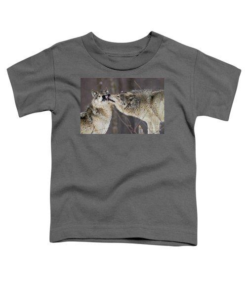 Kissy Face Toddler T-Shirt
