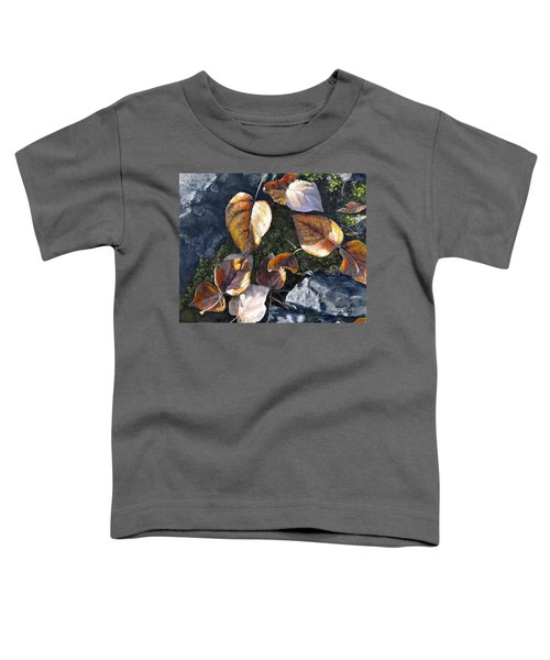 Knik River Autumn Leaves Toddler T-Shirt
