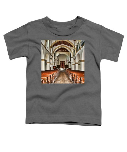 Knowles Memorial Chapel Rollins College 2 By Diana Sainz Toddler T-Shirt