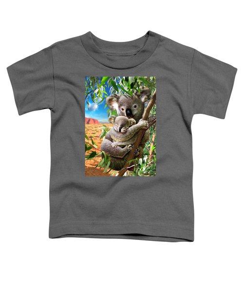 Koala And Cub Toddler T-Shirt