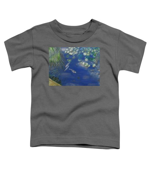 Koi At Red Butte Gardens Toddler T-Shirt