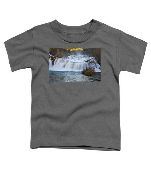 Krka Waterfalls Toddler T-Shirt