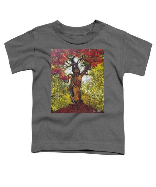 Lady Of Justice Toddler T-Shirt