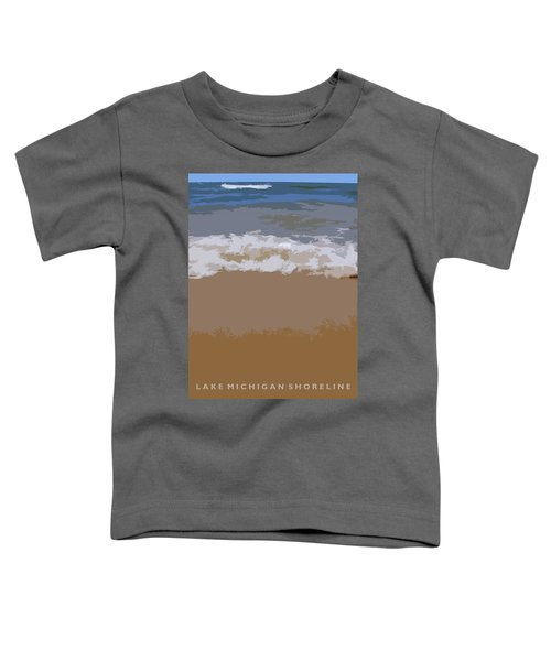 Lake Michigan Shoreline Toddler T-Shirt
