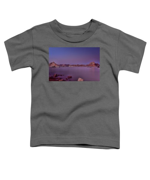 Lake Powell Sunset Toddler T-Shirt