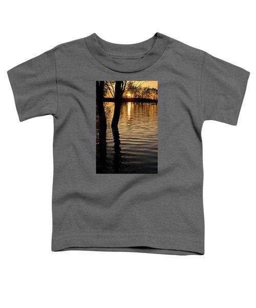 Lake Silhouettes Toddler T-Shirt