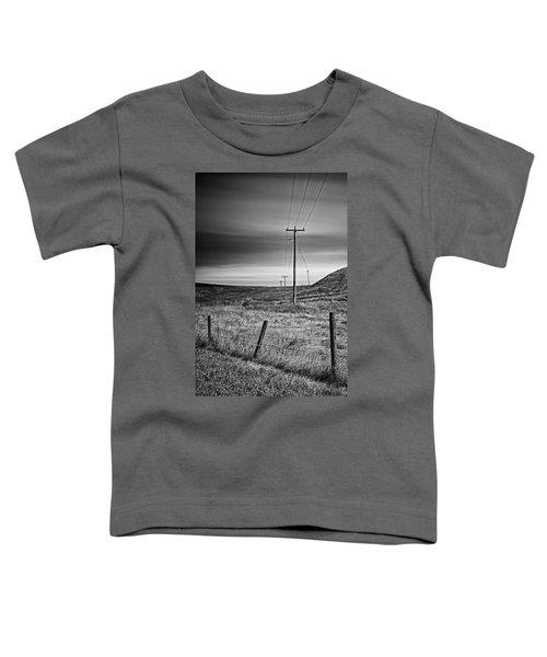 Land Line Toddler T-Shirt