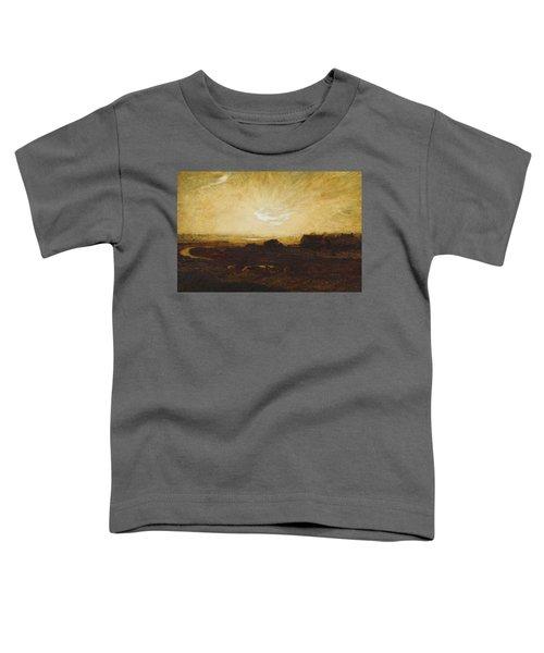 Landscape At Sunset Toddler T-Shirt