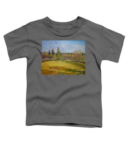 Landscape From Pyhajarvi Toddler T-Shirt