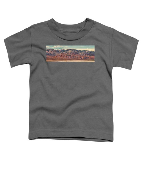 Landscape With Mountain Range Toddler T-Shirt by Panoramic Images