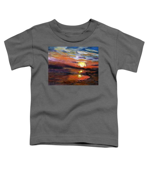 Last Sun Of Day Toddler T-Shirt
