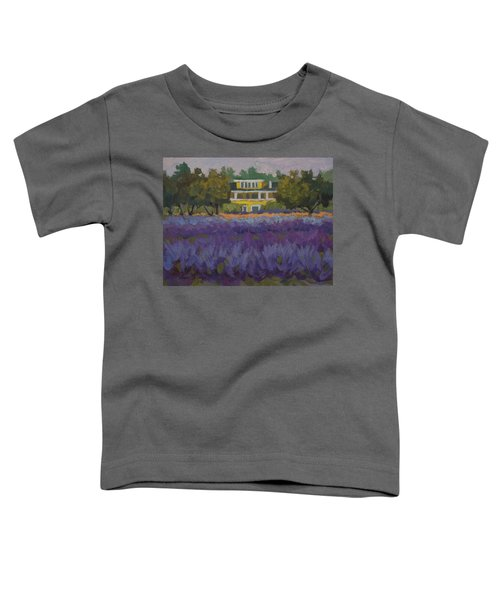 Lavender Farm On Vashon Island Toddler T-Shirt
