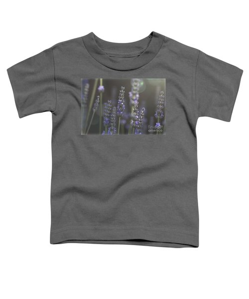 Lavender Flare. Toddler T-Shirt by Clare Bambers