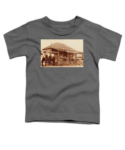 Law West Of The Pecos Toddler T-Shirt